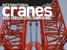 INTERNATIONAL CRANES AND SPECIALIZED TRANSPORT, released JANUARY 2013 - Fixing fleet angles (EN, PDF)